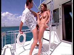 Hardcore Sex With Beautiful Babe On Yacht