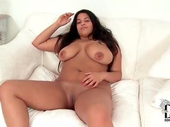 Chubby amateur has blistering hot big tits