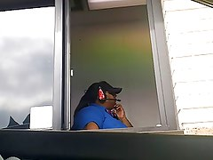 Jacking in McDonalds Drive Thru