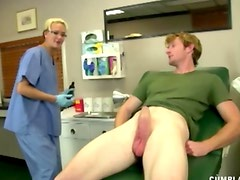 Nurse works for sperm sample