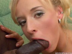 A Big Fat Black Cock For Evelin's Tight Pink Pussy