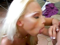 Sensual Nikki Hunter devours this hard throbbing cock