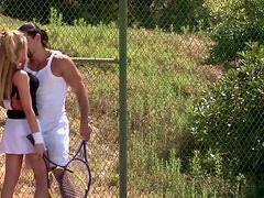 Beautiful Sporty Blonde Brynn Tyler Gets Fucked By Her Tennis Coach