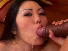 Big Black Cock For Petite Asian Kaiya Lynn