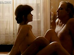 Bonerific Retro Babe Maria Schneider Shows Her Big Natural Tits
