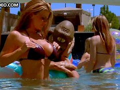 Incredibly Hot Babe Vanessa Marcil Sunbathing In a Sexy Bikini