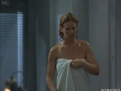 Sexy Hollywood Actress Kate Rodger Takes a Hot Shower Totally Naked