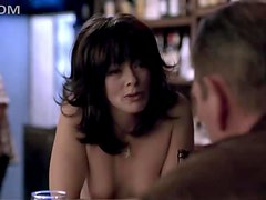 Tommy Lee Jones Surprised By Topless Waitress Frances Fisher