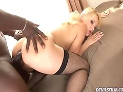 Hawt Blonde likes to receive fucked hard & get pussy creamed