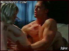 Sensual Blonde Softcore Star Brandy Davis Gets Banged Totally Naked
