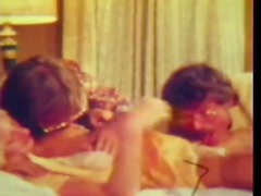 Stacey Barbwyck In Vintage Threesome With Double Penetration