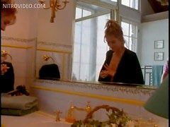 Mouthwatering Blonde Babe Mimi Cochran Gets a Hot Massage In a Bathtub