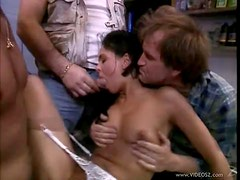 Olivia Del Rio Involved In a Vintage Threesome