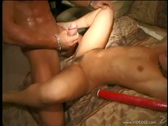 Gorgeous Kristina Black Sucks Cock and Gets Fucked At a College Party