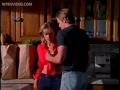 Beautiful Blonde MILF Mimi Cochran Gets Banged In The Kitchen
