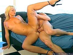 Cute Blonde Likes To Be Poked Good And Hard
