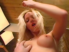 Fake titty blonde amateur laid hardcore
