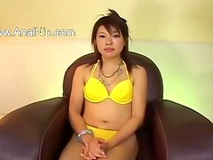 Great handjob of horny chinese girl