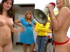 Alexis Texas real college group party
