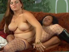 A Hot Lesbian Scene With Sexy Cougars