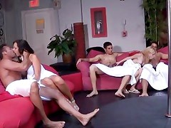 Swingers party with a horny group