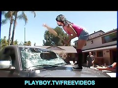 Pissed off ex-GF is punished for smashing her man's car
