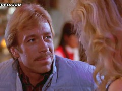 The Almighty Chuck Norris Seduces Hot Susie Hall With Just a Look