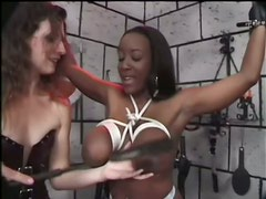 Extremely Wild Hardcore Interracial Femdom Porn Video