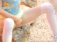 Petite angular doll stripping