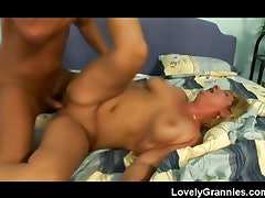 Sloppy Seconds for naughty old granny