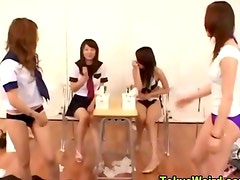 Asian fetish teens class vibrator play