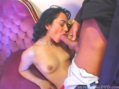 Mature Brunette's Takes A Pounding From A Fat Cock