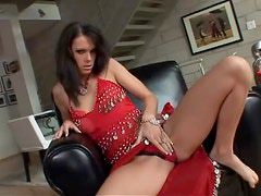 Jennifer Dark pretends to be an Indian and gets her holes drilled hard
