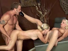 Lucky Guy Nails His Girlfriend And Her Hot Mom