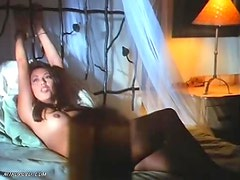 Seidy Lopez Naked and Bound to the Bed
