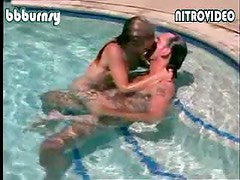 Busty Blonde Babe Michelle Von Flotow Gets Fucked In The Pool