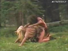 Gorgeous Blonde Babe Daryl Hannah Gets Fucked Doggy Style Outdoors
