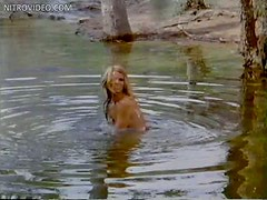 Beautiful Jennifer Billingsley Stared by a Dozen Bikers while Swimming Naked