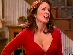 Sensual Brunette Patricia Heaton Wearing an Incredibly Sexy Outfit