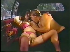 Beautiful Bridgette Monet Gets Her Hairy Pussy Fucked Inside a Limo