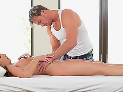 Erotic massage and hardcore penetration