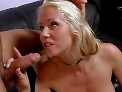 Alexa Weix gets her face drenched with hot cum