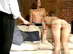 Sweet asses spanked and caned