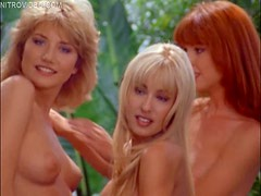 Cock-Hardening Nude Photo Session Featuring Anna Davidoff and Company