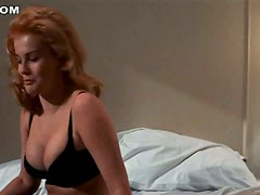 Ann-Margaret Looks Incredibly Sexy With That Black Lingerie