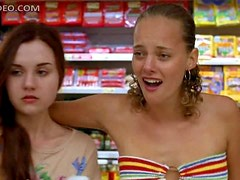 Bijou Phillips Wet and Sexy in That Strapless Bikini
