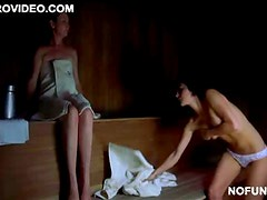 Cute Martha Higareda Loses Her Towel In the Sauna