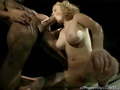 Luciana the curly babe with angel wings get fucked outdoors