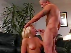 Blonde Horny Babe Fucked By A Hard Cock...