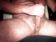 Homemade Crotchless Thong